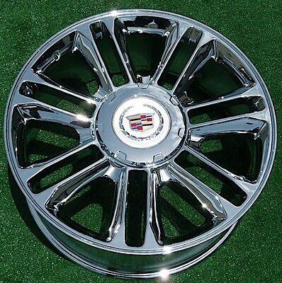 NEW Cadillac Escalade PLATINUM Chrome EXACT OEM Factory GM Style 22 WHEEL 5358 2000 Cadillac Escalade Wheel