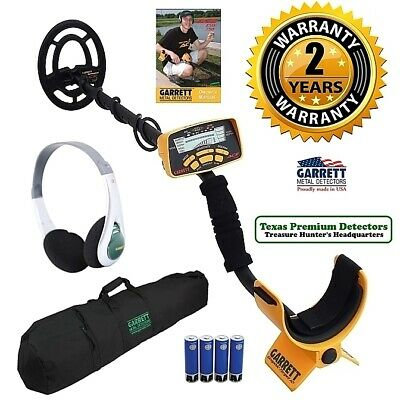Rated Best Garrett Ace 250 Metal Detector with Detector Bag and Sport