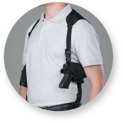 BULLDOG Shoulder Holster With Double Magazine holder for Ruger LCP 380 W/ LASER