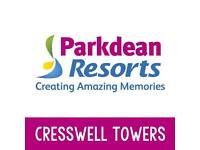 PART EXCHANGE YOUR TOURER FOR A STATIC CARAVAN AT CRESSWELL TOWERS