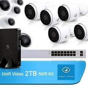 Ubiquiti Unifi Video Bundle – NVR-2TB, 5 Dome, 5 bullet & Narre Warren Casey Area Preview