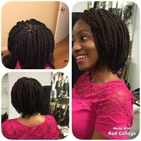 African weaves,Box braids,Twist,Ghana braids, Dreadlocks