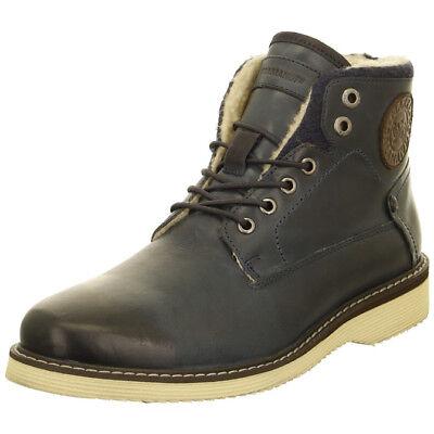 Herren Glatt Leder Stiefel (Salamander Herren Boots / Stiefel gefüttert - Glattleder Gr 44, 45, 46)