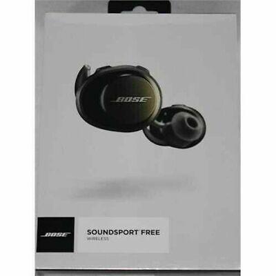 Bose SoundSport Free Bluetooth Wireless In-Ear Headphones Earbuds - Black New!
