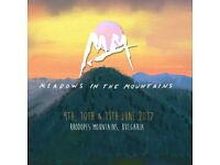 1 or 2 Meadows In The Mountains Tickets
