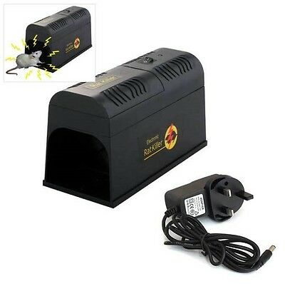 REUSABLE ELECTRONIC MOUSE RAT RODENT KILLER ELECTRIC ZAPPER TRAP PEST CONTROL