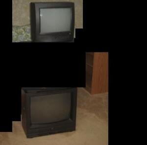 """2 CRT's for sale 13"""" GE & 19"""" JVC"""