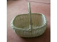 Wicker basket in excellent condition