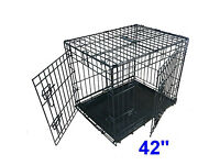Free!!! Dog/Puppy Cage - 42 inch. Ellie Bo.