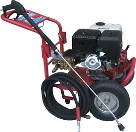 Howden Karcher Volmac 13HP Petrol Engine Power Pressure washer 3650Psi Interpump System