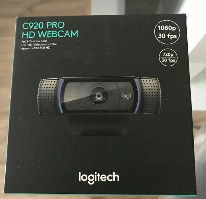Logitech C920 HD Pro Webcam Videogespräche und Aufnahmen in Full HD und 1080p