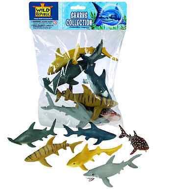 Wild Republic Large Polybag - Shark Animal Play Set toy Figurines
