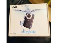 JVC HD, waterproof pocket camera