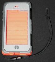 iPhone 5 OtterBox Water Proof Orange / Grey
