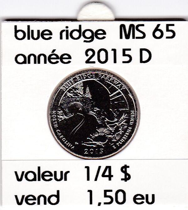 blue ridge  2015 D   voir description