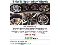 BMW M Sport Alloys & Tyres (Unused)