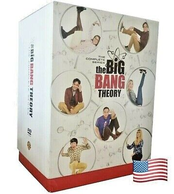 The Big Bang Theory The COMPLETE SERIES 1-12 DVD Same Day Shipping