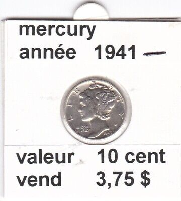 e3 )pieces de mercury 1941   voir description