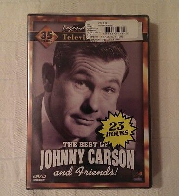 Best of Johnny Carson & Friends DVD 4 Disc Set Tonight Show Ronald Reagan