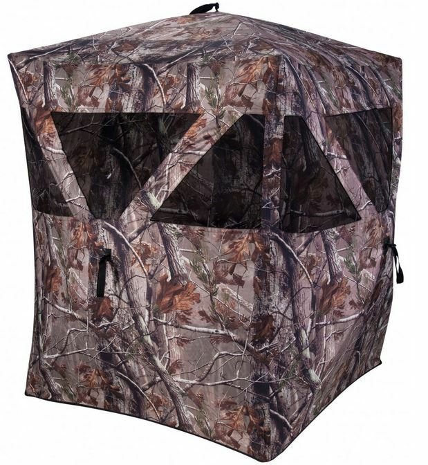 Ameristep Rockhouse Hub Style Ground Blind Rockhouse