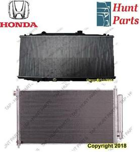 All Honda AC compressor Condenser Radiator Support Fan Cooling Compresseur AC Condenseur Radiateur Support Ventilateur