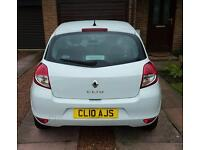 2010 renault clio 1.2 with very low miles 1 owner and private plate!!