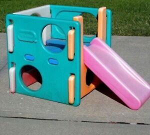little tikes small cube climber with slide