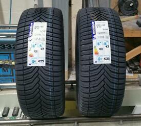 2 x Michelin CrossClimate tyres 225/45 R17 94W XL
