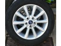 Ford focus 5 stud alloys