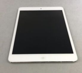 iPad mini in white with charger but no box sorry