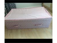 Next pink underbed storage