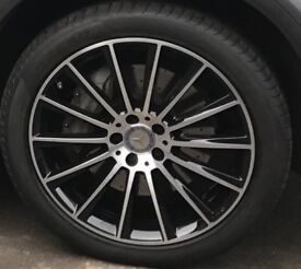 Mercedes genuine GLC 20 inch AMG alloy wheels W253, 8.5Jx20 ET40 A2534011900