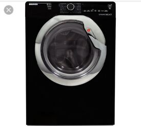 NEW GRADED!!! HOOVER WDXAC6852B WASHER DRYER BLACK WITH 12 MONTHS WARRANTY RRP £399