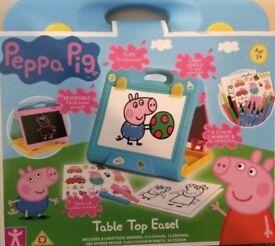 Peppa Pig table top easel
