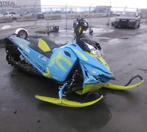 Parting out 2017 skidoo freeride