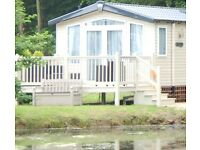 Luxury Lakefront caravan hire @ Haggerston Castle