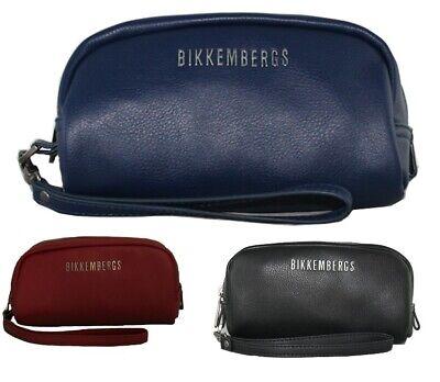 Pochette uomo Bikkemebergs borsello con manichetto in ecopelle H9x19Lx9,5W