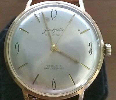 Rare Vintage Men Gub Glashutte Original Senator Sixties Hand Wind Wrist watch 2
