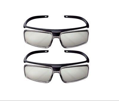 Set of 2 Sony Passive 3-D Glasses X25888861 TDG-500P New & Sealed Pair 3D Pack