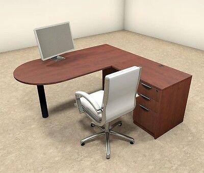 3pc L Shaped Modern Executive Office Desk Ot-sul-l18