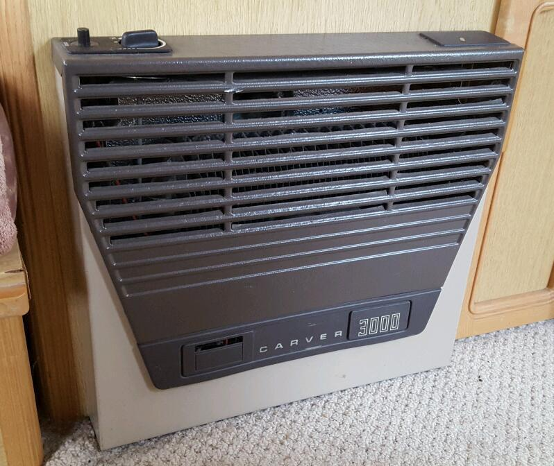 Carver 3000 Caravan Gas Heater And Blower Unit In