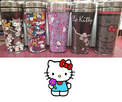 Hello Kitty Sanrio Limited Collectible Stainless Steel Mugs Rare - Sanrio Costumes