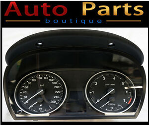 BMW 3/X1 Series 04-12 Instrument Cluster Speedometer 724007059