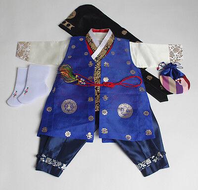 Korea Traditional boy baby hanbok ORIGINAL DOLBOK first birthday doljanchi