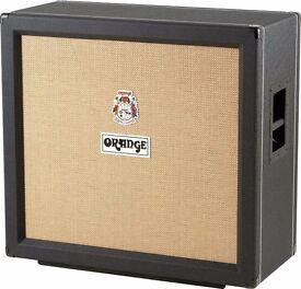 Orange PPC412 4x12 Cabinet in Black