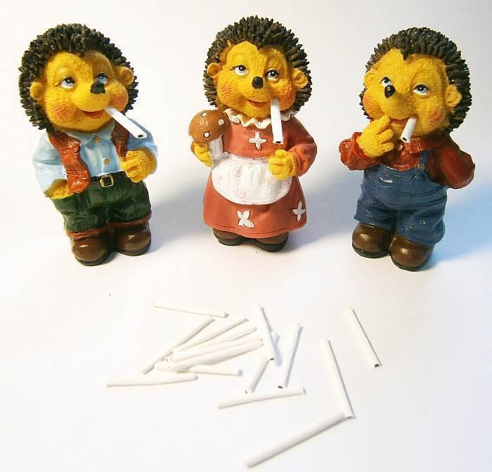 Räuchermecki inkl. 10 Zigaretten Räuchermännchen Mecki