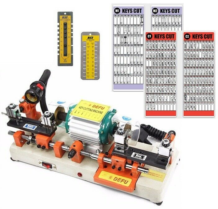 NEW Key Cutting Machine Starter Package
