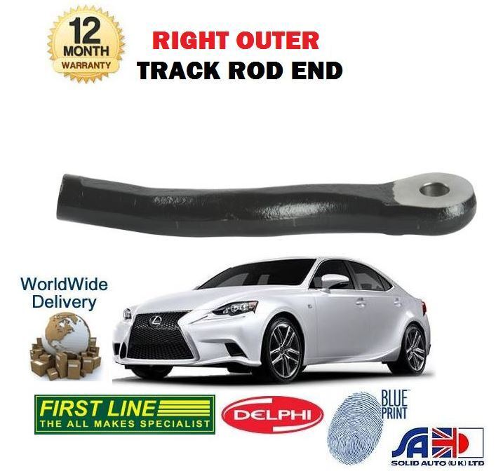 FOR LEXUS IS250 IS300H HYBRID 2013-> NEW RIGHT OUTER STEERING TIE TRACK ROD END