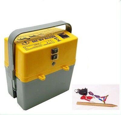 Dispositivo Valla Pasto Batería Aparato Alimentador Weidegerät Eléctrica