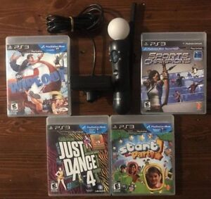 PlayStation Move Bundle For PS3 With 1 Motion Controller, Camera